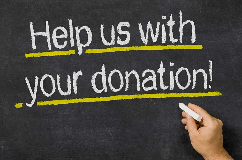 Help Us With Your Donation