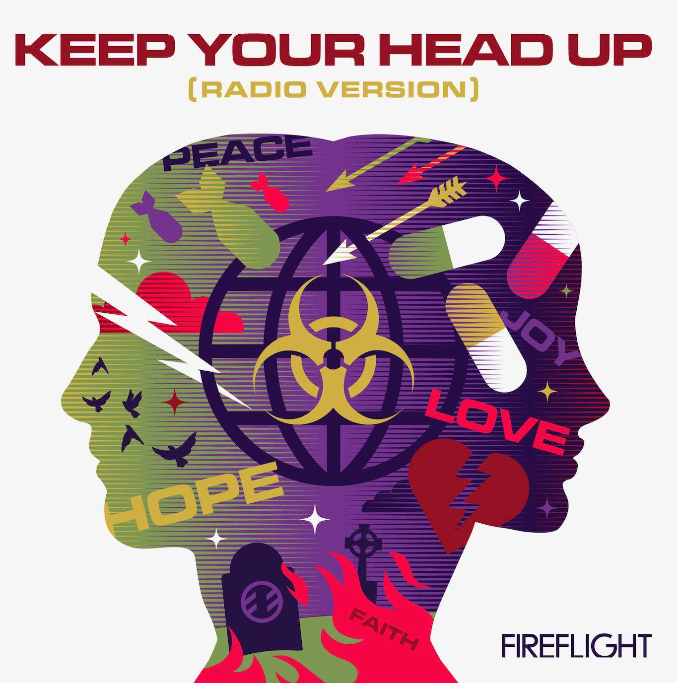 """Fireflight speaks to anxiety, depression, and abuse with the hope-saturated single """"Keep Your Head Up"""""""